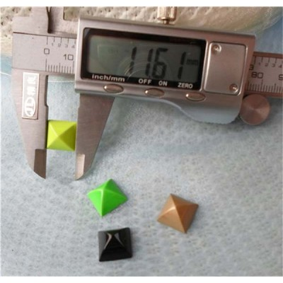 K167 Pyramid Mongolian Yurt Alloy Rivets 12mm 100pcs/bag