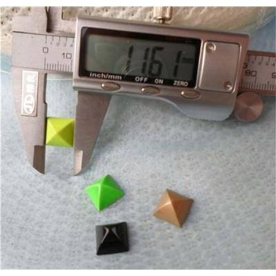 K167 Pyramid Mongolian Yurt Alloy Rivets 12mm 100pcs/bag