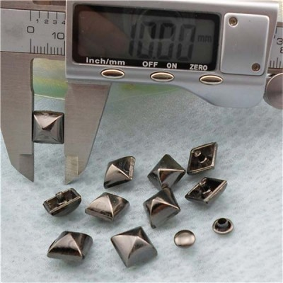 XK198 Pyramid Mongolian Yurt Alloy Rivets 10mm 100pcs/bag