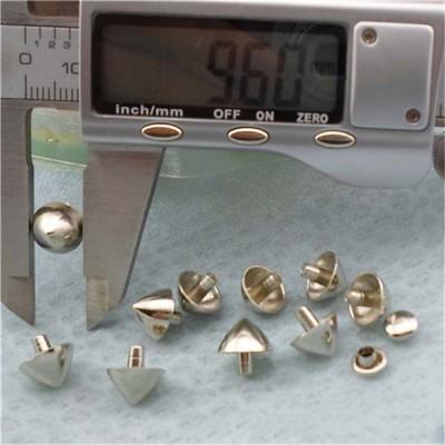 XK200 Alloy Conical Rivets 9.6x9.4mm 100pcs/bag
