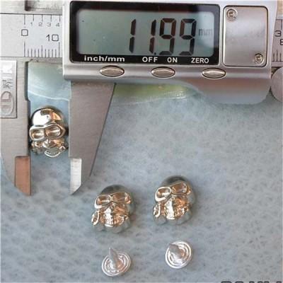 Q103 Plastic Skull Rivets 16x12mm 1000pcs/bag