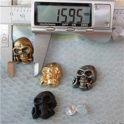 Q105 Plastic Skull Rivets 22x16mm 1000pcs/bag