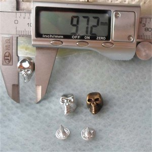 Q140 Plastic Skull Rivets 16X10mm 1000pcs/bag