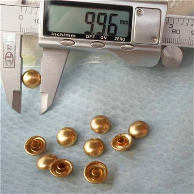 T016 Dome Rivets(iron/brass) 10x5mm 1000pcs/bag