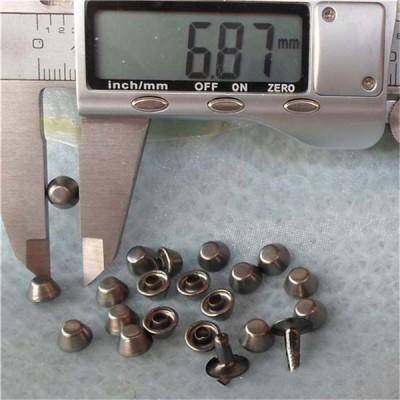 T034 Bucket Rivets(iron/brass) 7x4.4mm 1000pcs/bag