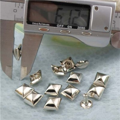 T06410 Pyramid Mongolian Yurt Rivets(iron/brass)10mm 1000pcs/bag