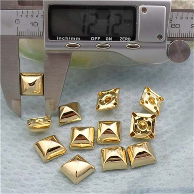 T06412 Pyramid Mongolian Yurt Rivets(iron/brass)12mm 1000pcs/bag