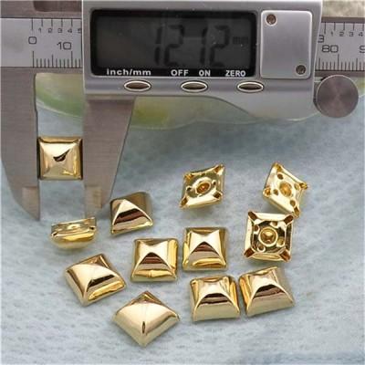 T06412 Pyramid Mongolian Yurt Rivets(iron/brass)12mm 1000pcs/bag