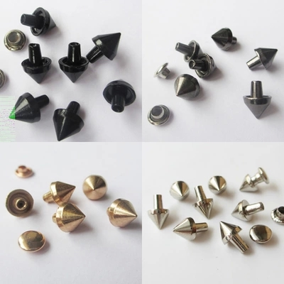 X011 Cone Alloy Rivets 7x6mm 100pcs/bag