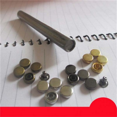 X0704 Round Brass Rivets(iron/brass)7mm 1000pcs/bag