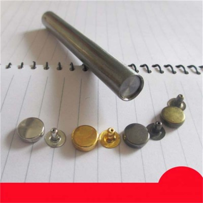 X0904 Round Rivets(iron/brass)9mm 1000pcs/bag