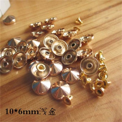 X1006 Punk Cone Rivets 10x6mm 1000pcs/bag