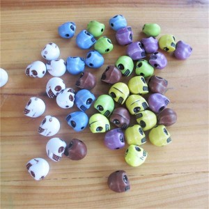 X1310 Plastic Skull Rivets 13x10mm 100pcs/bag