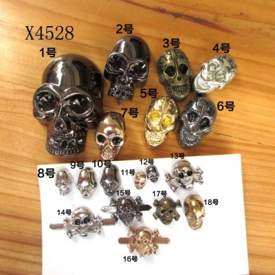 X4528 Brass Studs 31x49mm 100pcs/bag