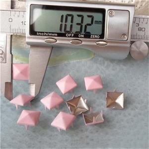 A007 Pyramid Studs(iron/brass) 10mm 1000pcs/bag