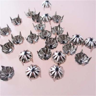 A023 Flower Studs(iron/brass) 9x3.5mm  1000pcs/bag