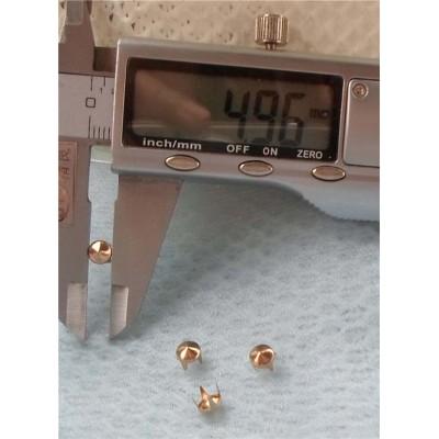 A026 Brass Cone Studs 5x4mm 1000pcs/bag