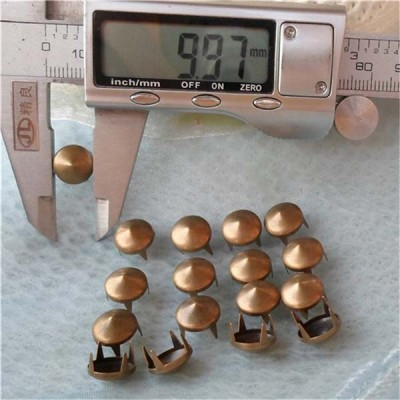 A030 Cone Studs With a Flat Top( iron/brass) 10x4mm 1000pcs/bag