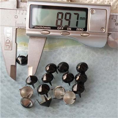 A036 Conical Studs(iron/brass) 9x5mm 1000pcs/bag