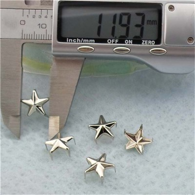 A042 Pentagram Five Claws Studs(iron/brass) 12mm 1000pcs/bag