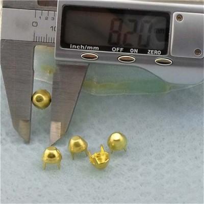 A0845 Bucket Brass Studs 8x4.5mm 1000pcs/bag