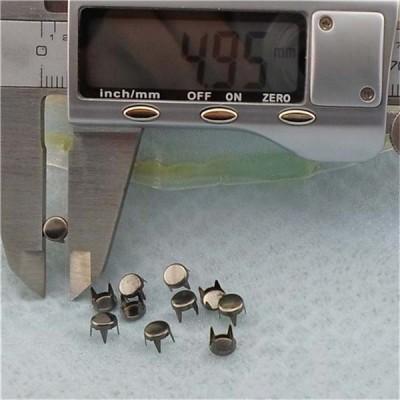 AP0513 Round Flat Iron Studs 5mm 1000pcs/bag