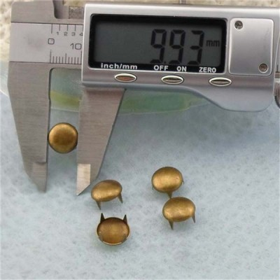 AR1003 Dome Studs(iron/brass) 10mm 1000pcs/bag