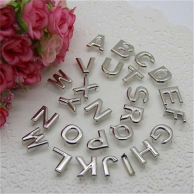 DD1505  Letters(A-Z) Studs(iron/brass) 15x15mm 10sets