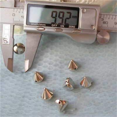 F018 Cone ABS Sew Spikes 10x9mm 1000pcs/bag