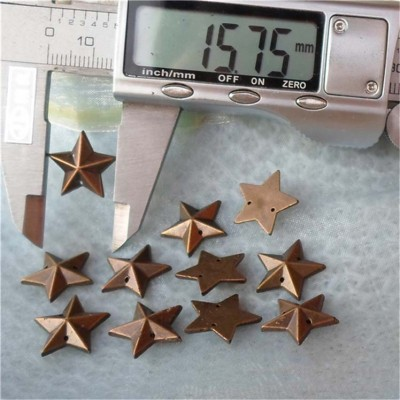 F022 Pentagram ABS Sew Spikes 16mm 1000pcs/bag