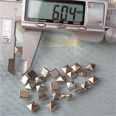 F028 Decorative Sewing Spikes 6mm 1000pcs/bag