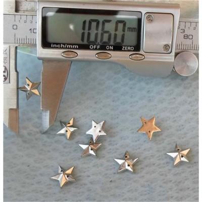 F066 Pentagram Sewing Spikes 11mm 1000pcs/bag