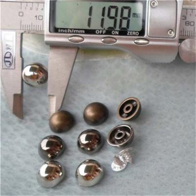 Q016 Dome Plastic Rivets 12x6mm 1000pcs/bag