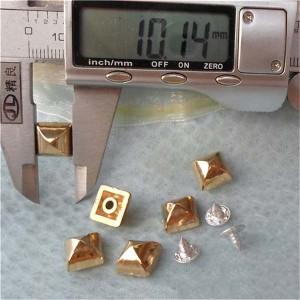 Q019 Yurt Pyramid Plastic Rivets 10mm 1000pcs/bag