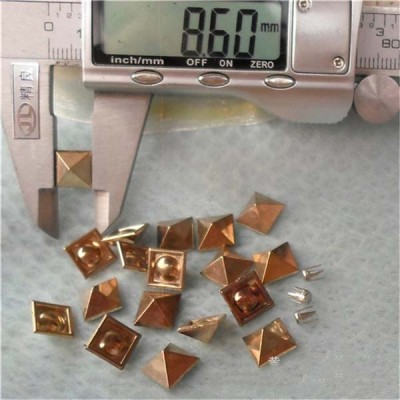 Q048 Decorative ABS Rivets 9mm 1000pcs/bag
