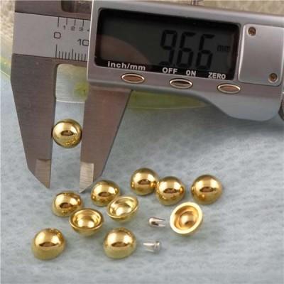 Q053 Dome Plastic Rivets 10x5mm 1000pcs/bag