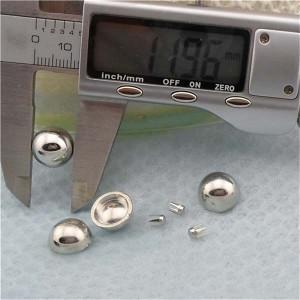 Q054 Dome Plastic Rivets 12x6mm 1000pcs/bag
