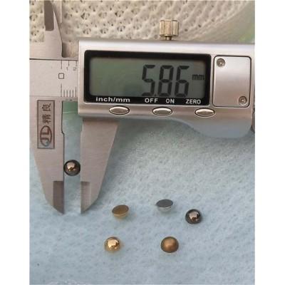 Q093 Dome Plastic Rivets 6x3mm 1000pcs/bag