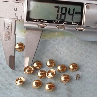 Q096 Dome Plastic Rivets 8x4mm 1000pcs/bag