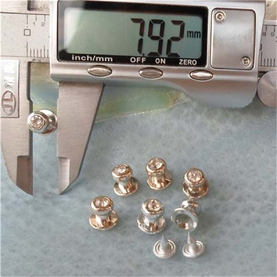 Q100 Nipple A Diamond Plastic Rivets 8x6x8.5mm 1000pcs/bag