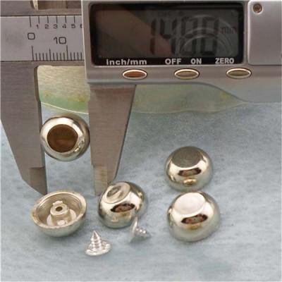 Q109 Dome Plastic Rivets 15x6.5mm 1000pcs/bag