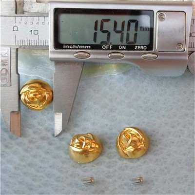 Q111 Flower Shaped ABS Rivets 15x15mm 1000pcs/bag