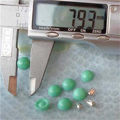 Q127 Dome Plastic Rivets 8x4mm 1000pcs/bag