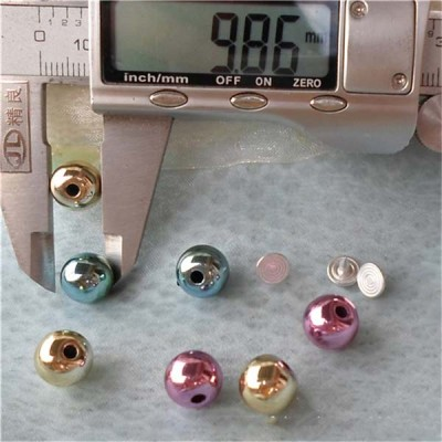 Q142 Round/Pearl Plastic Rivets 10mm 1000pcs/bag