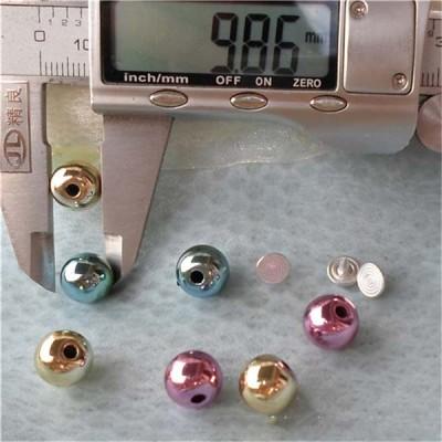Q142 Round/Pearl Plastic Rivets 10mm 1000pcs/bag