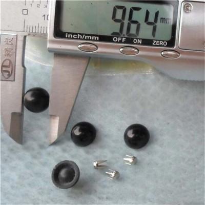 Q146 Dome Plastic Rivets 10x5mm 1000pcs/bag