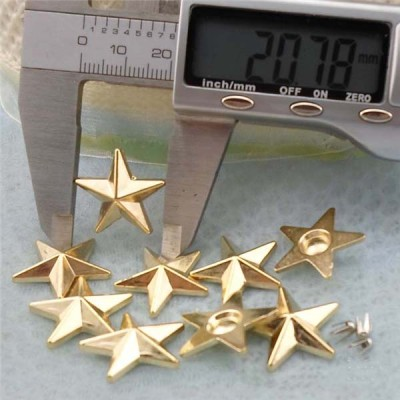 Q153 Pentagram Plastic Rivets 21mm 1000pcs/bag