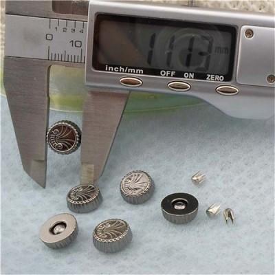 Q155 Round Plastic Rivets 11x4mm 1000pcs/bag