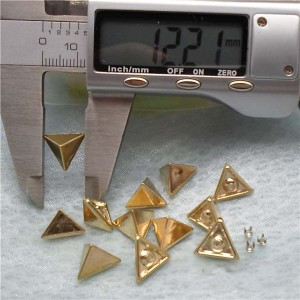 Q169 Triangle ABS Rivets 12x7mm 1000pcs/bag