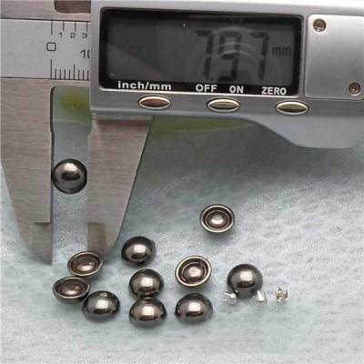 Q170 Dome Plastic Rivets 8x3.5mm 1000pcs/bag